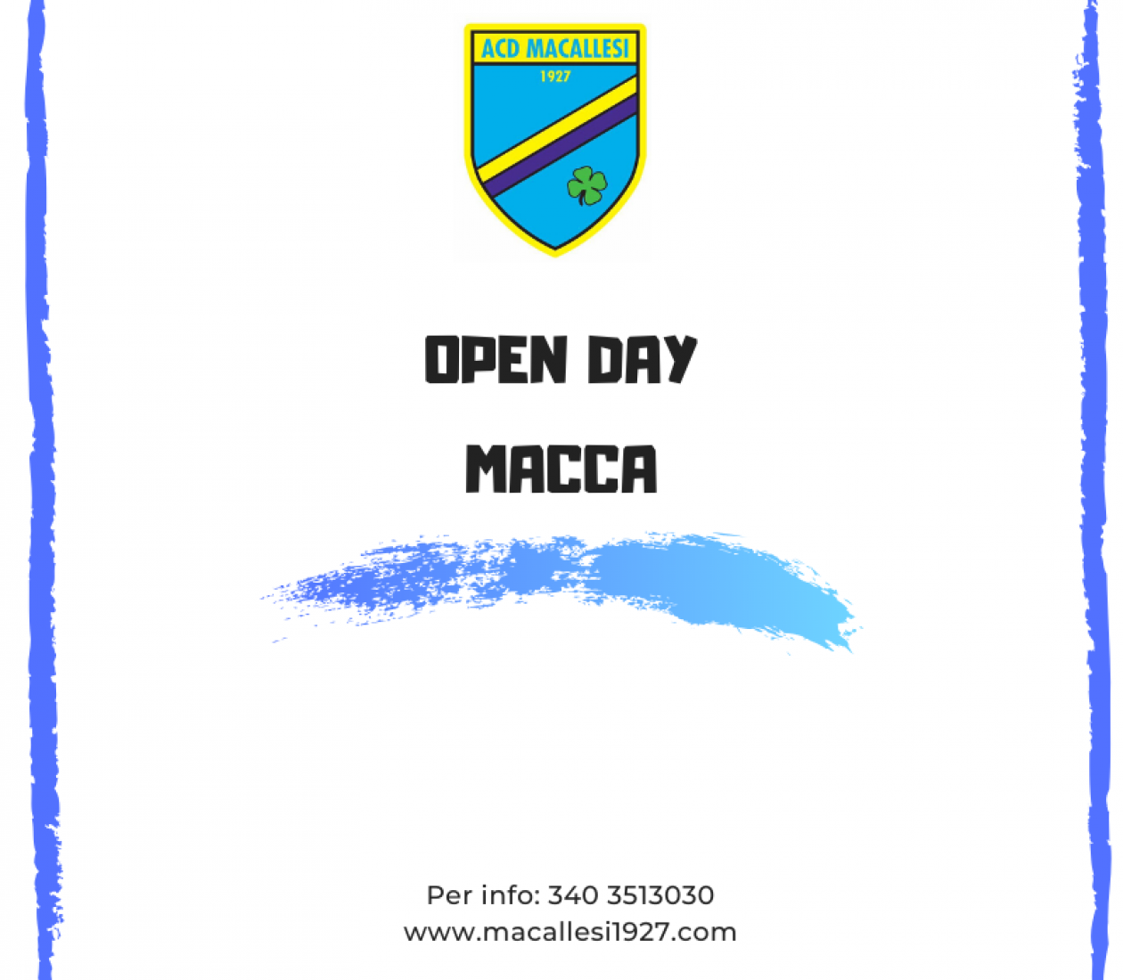 Open day Macallesi
