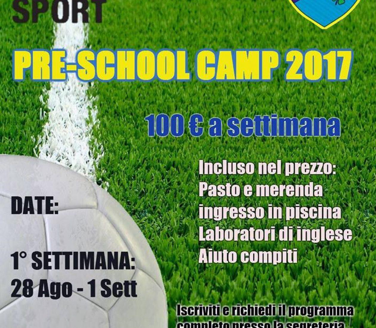 Pre-School Camp 2017