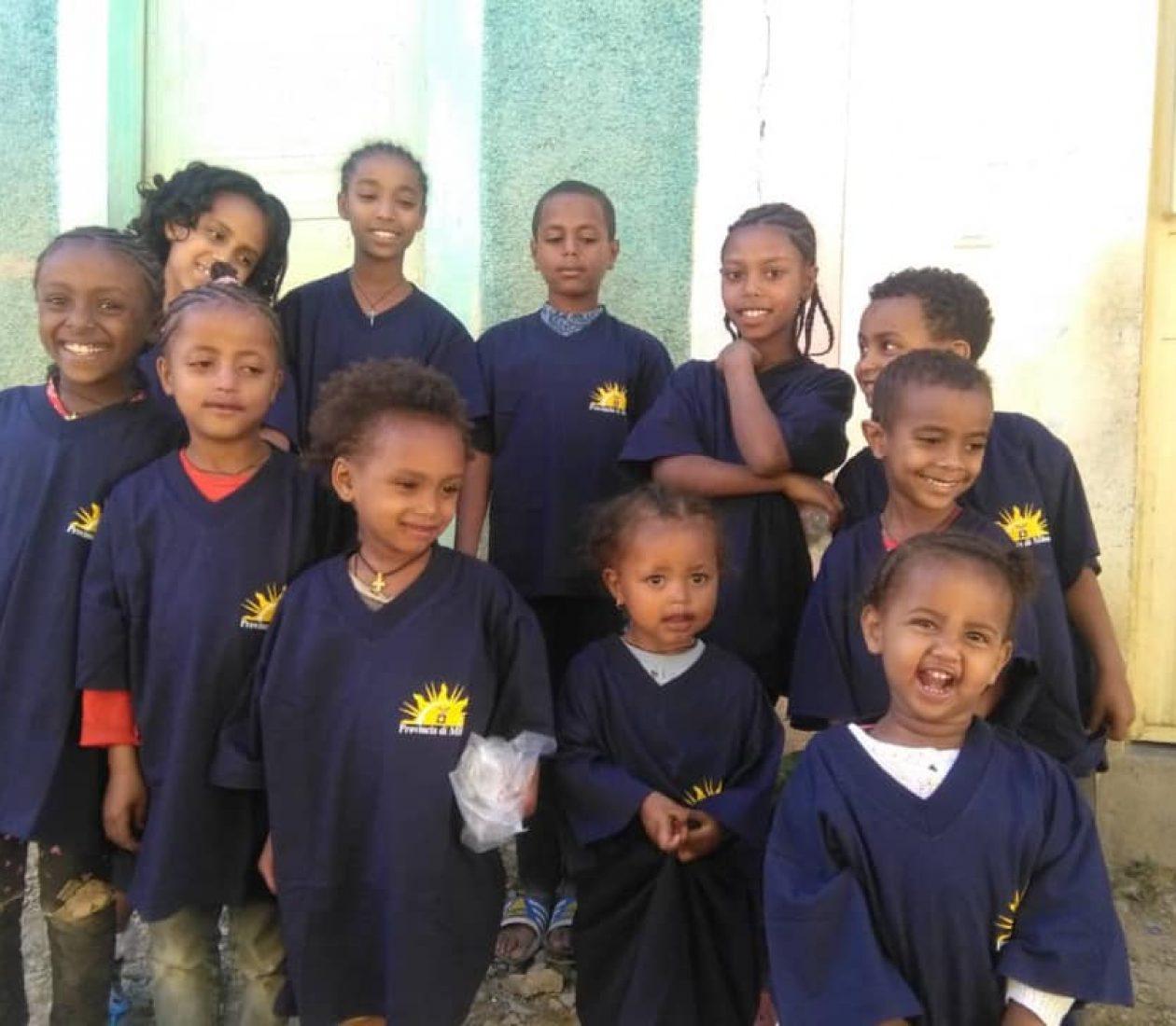Un piccolo regalo per i bimbi etiopi di Makallé!