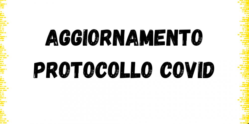 Aggiornamento protocollo Covid