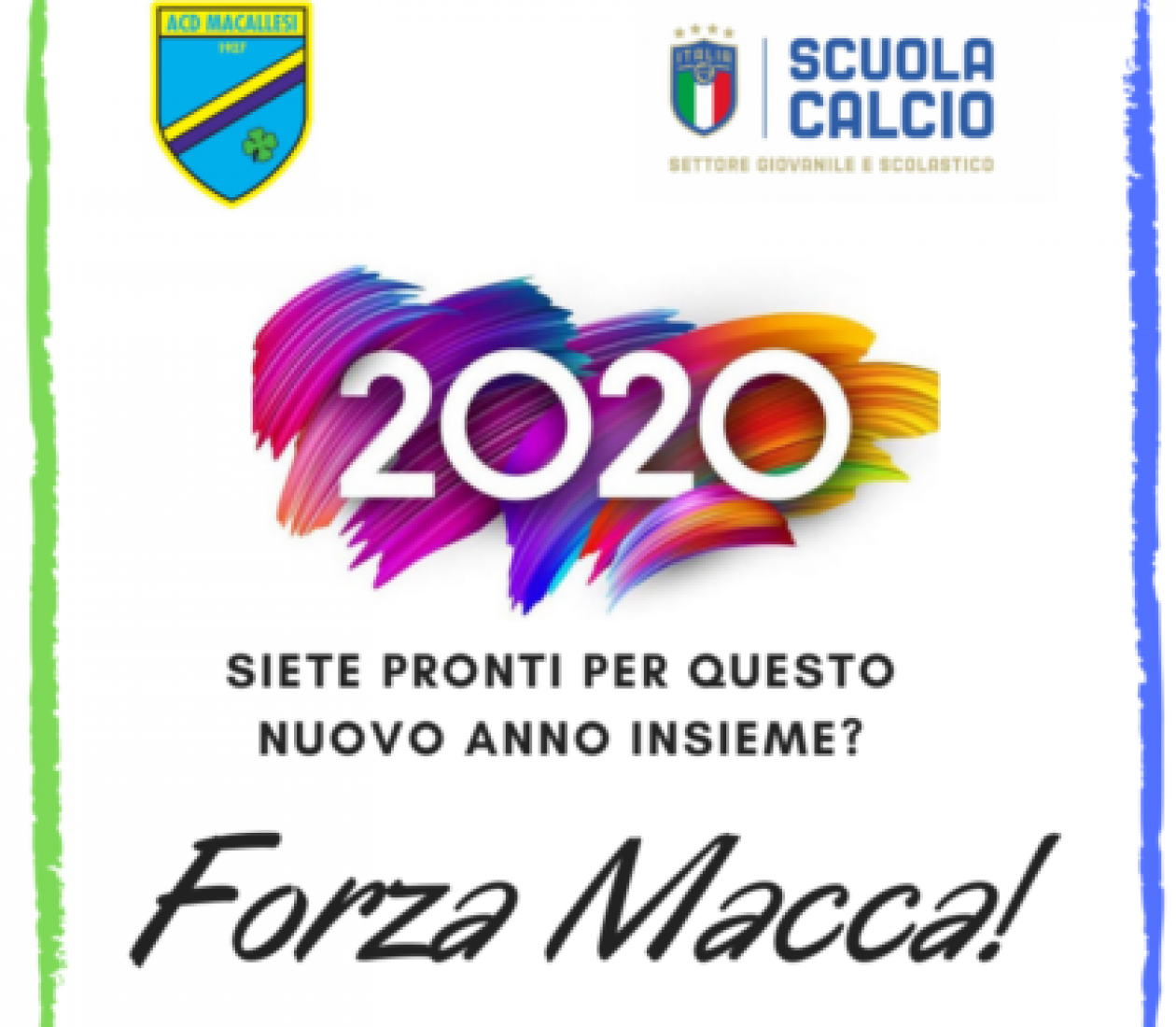 Buon 2020 Macca!
