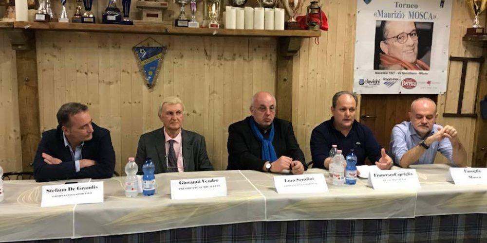 Conferenza stampa ottava edizione Trofeo Maurizio Mosca!