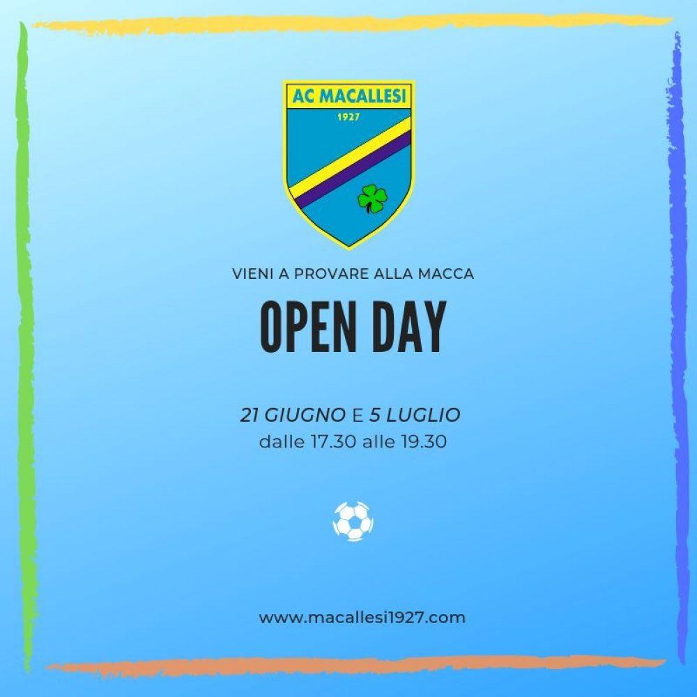 Open Day Macca!