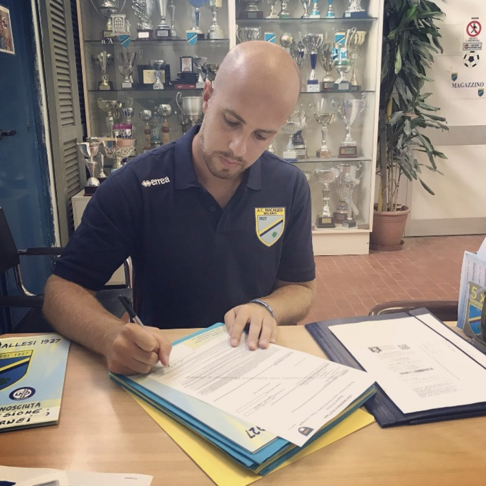 Presentazione del nuovo Direttore Sportivo.