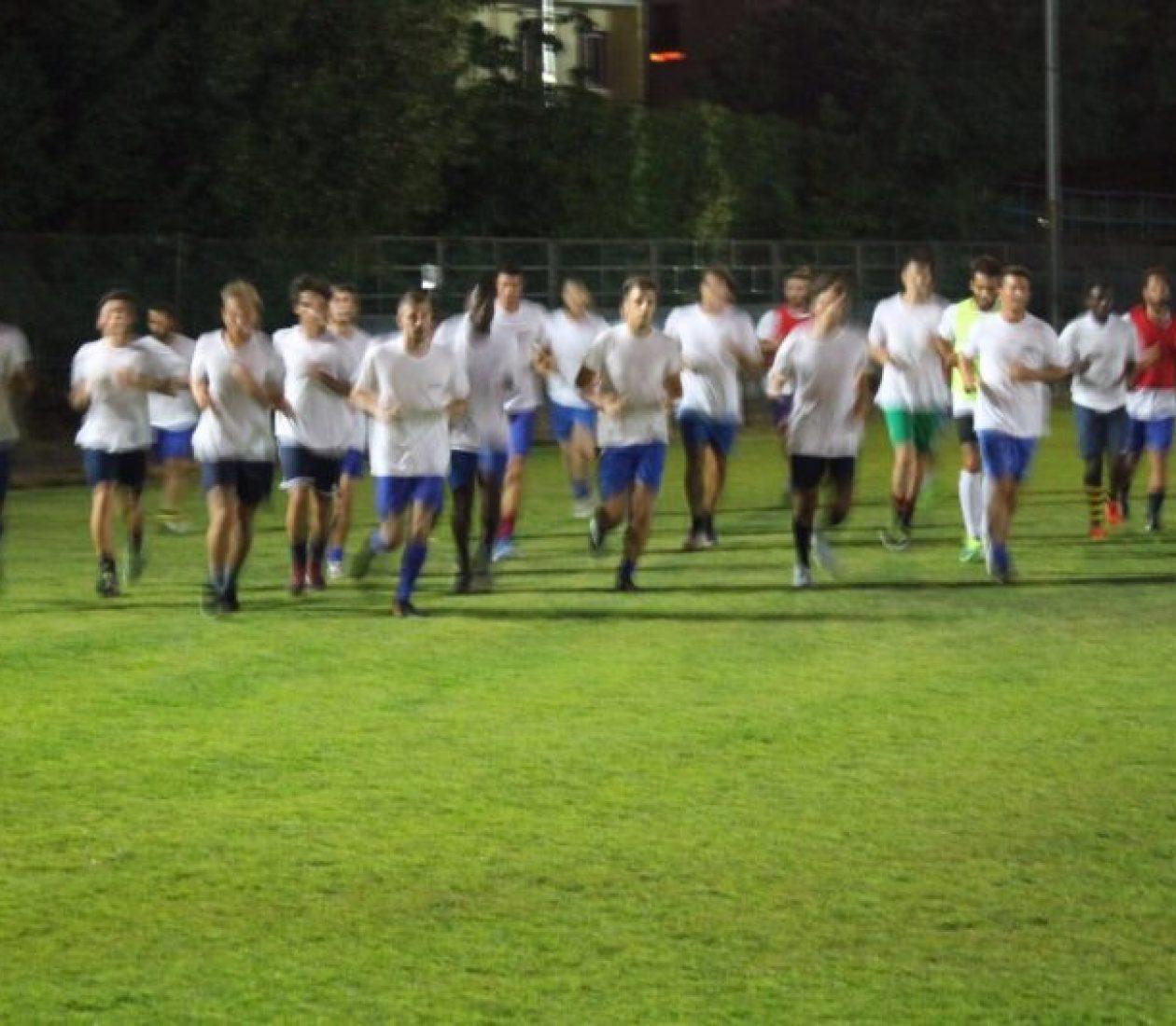 Cominciata la preparazione della prima squadra!