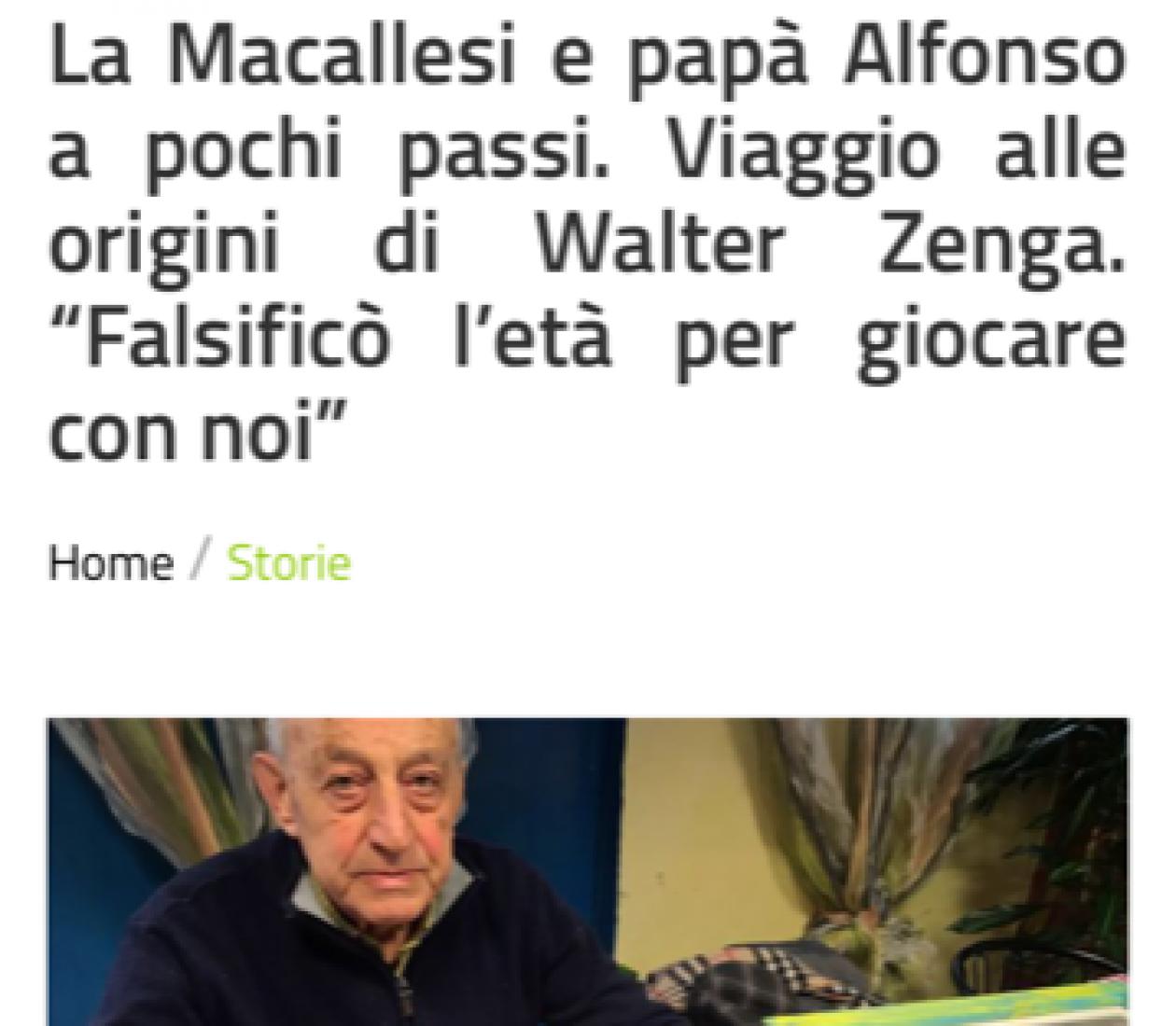Gianluca Di Marzio dà voce alla Macallesi!