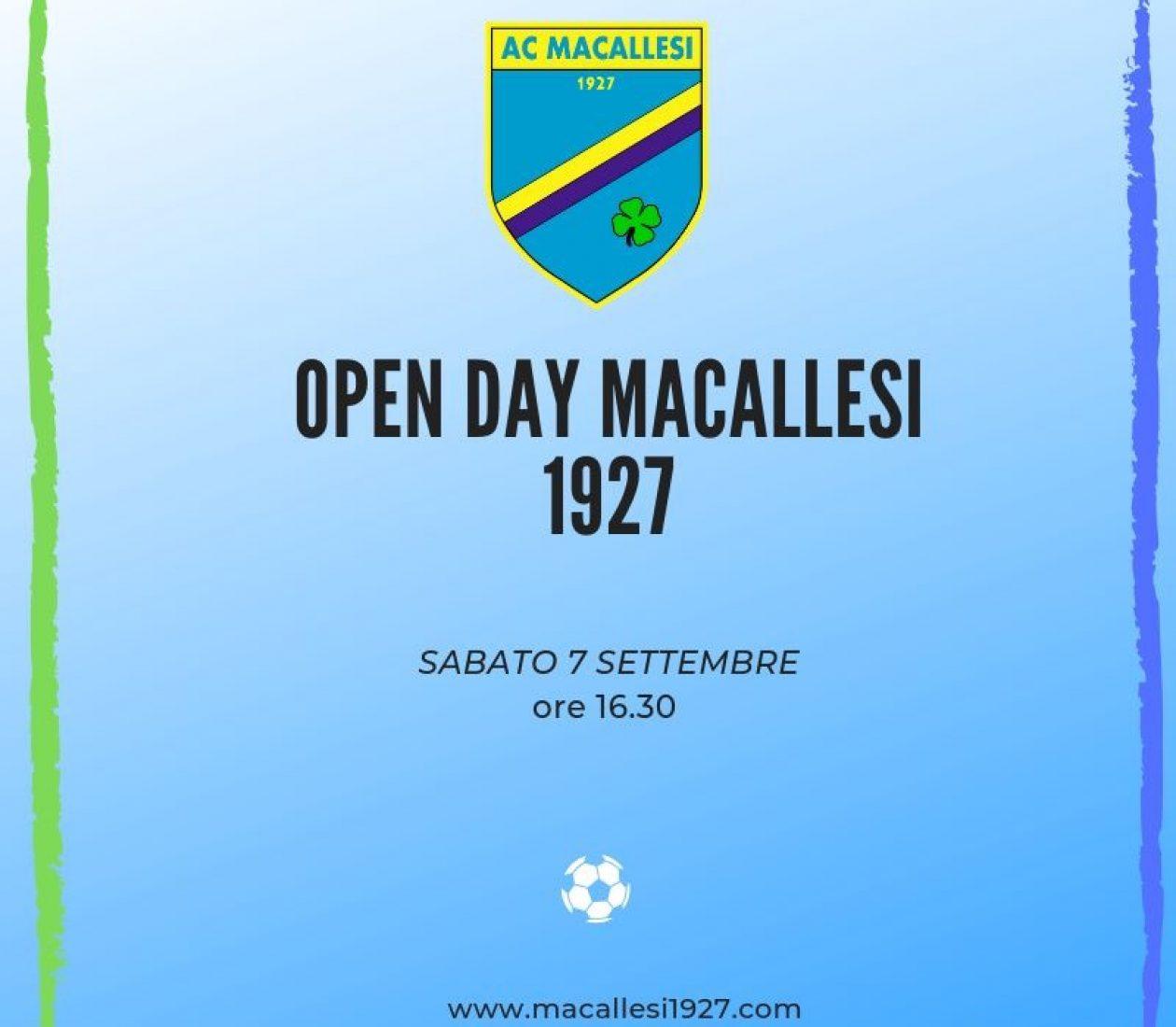Open day scuola calcio!