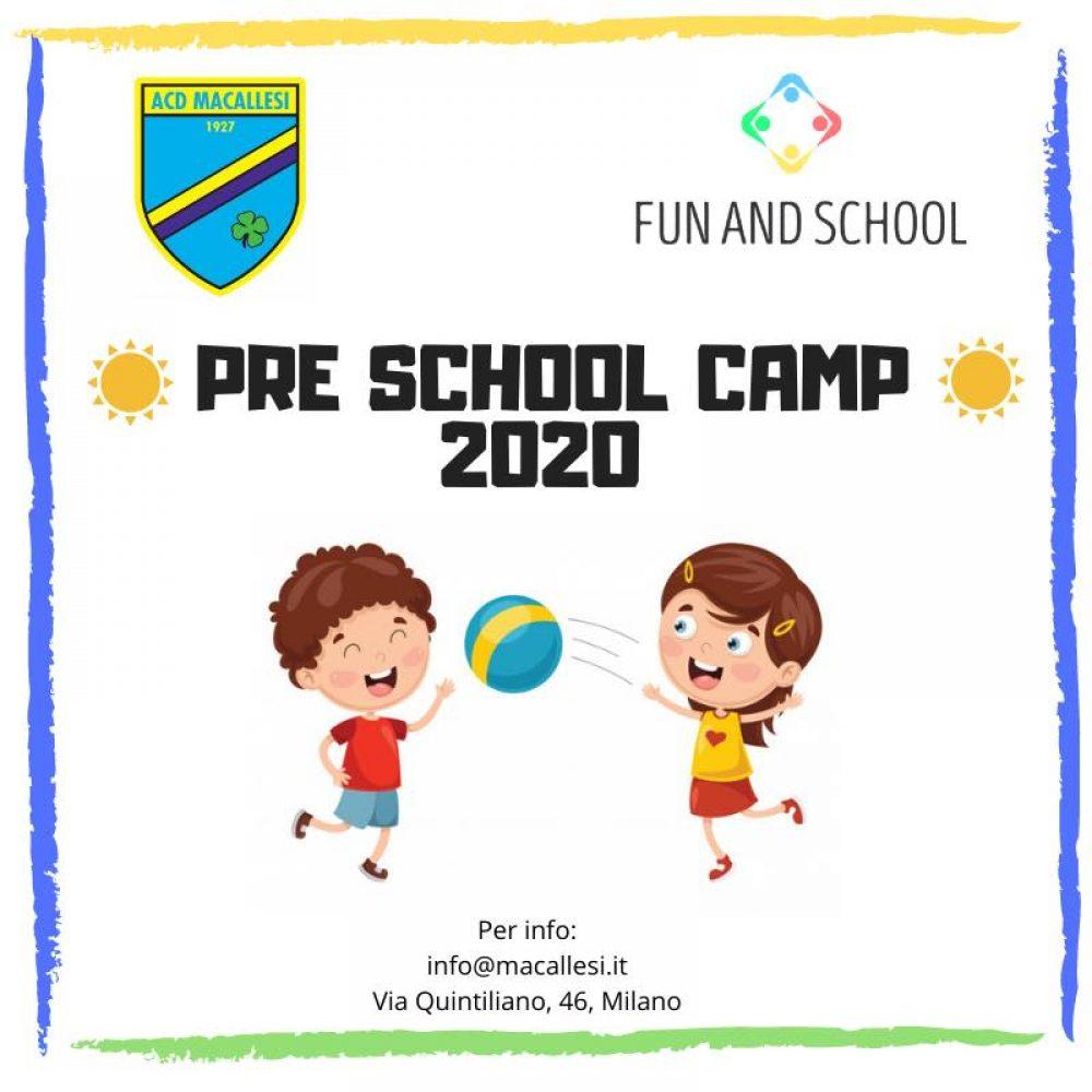 Pre School Camp 2020