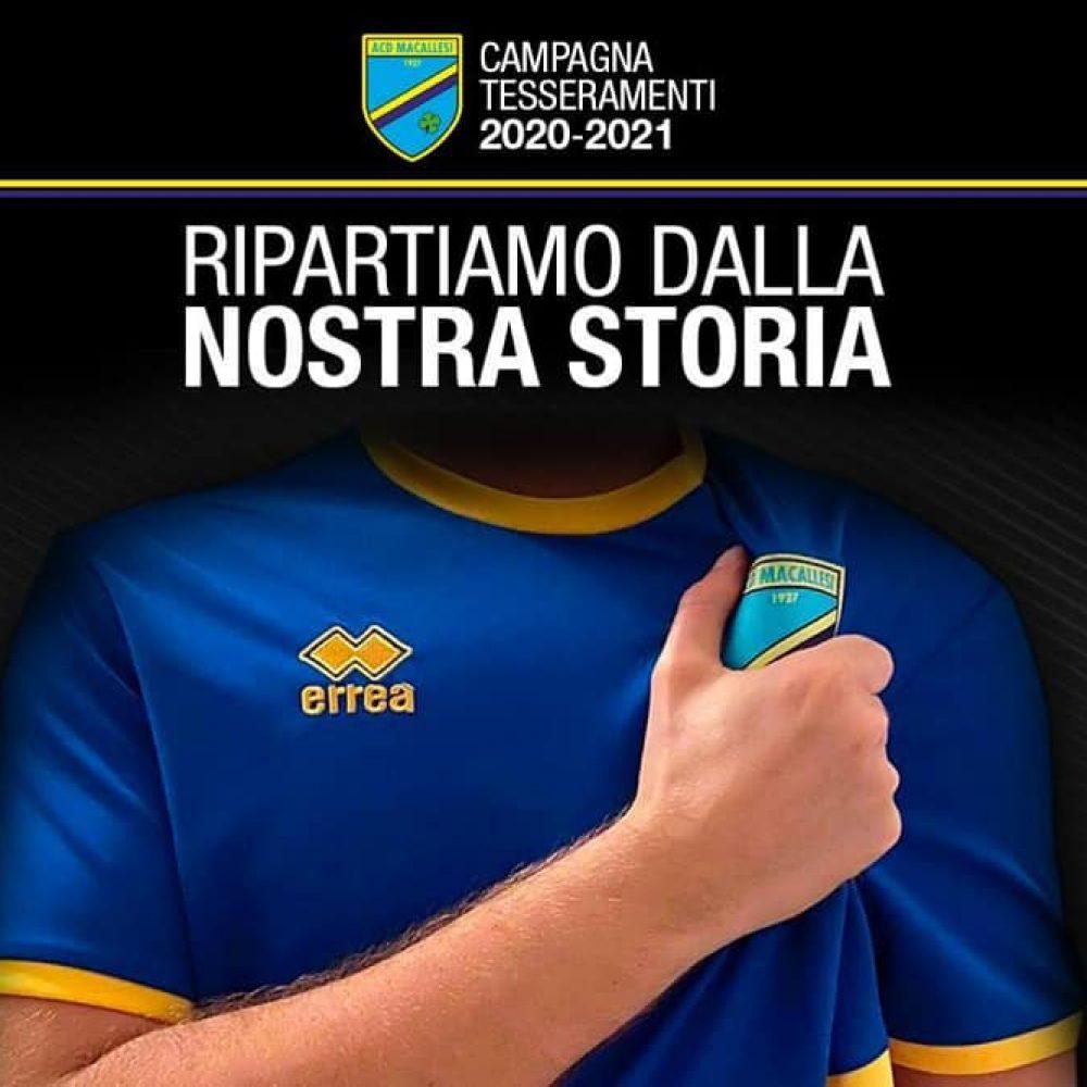 Campagna tesseramenti stagione 2020/21