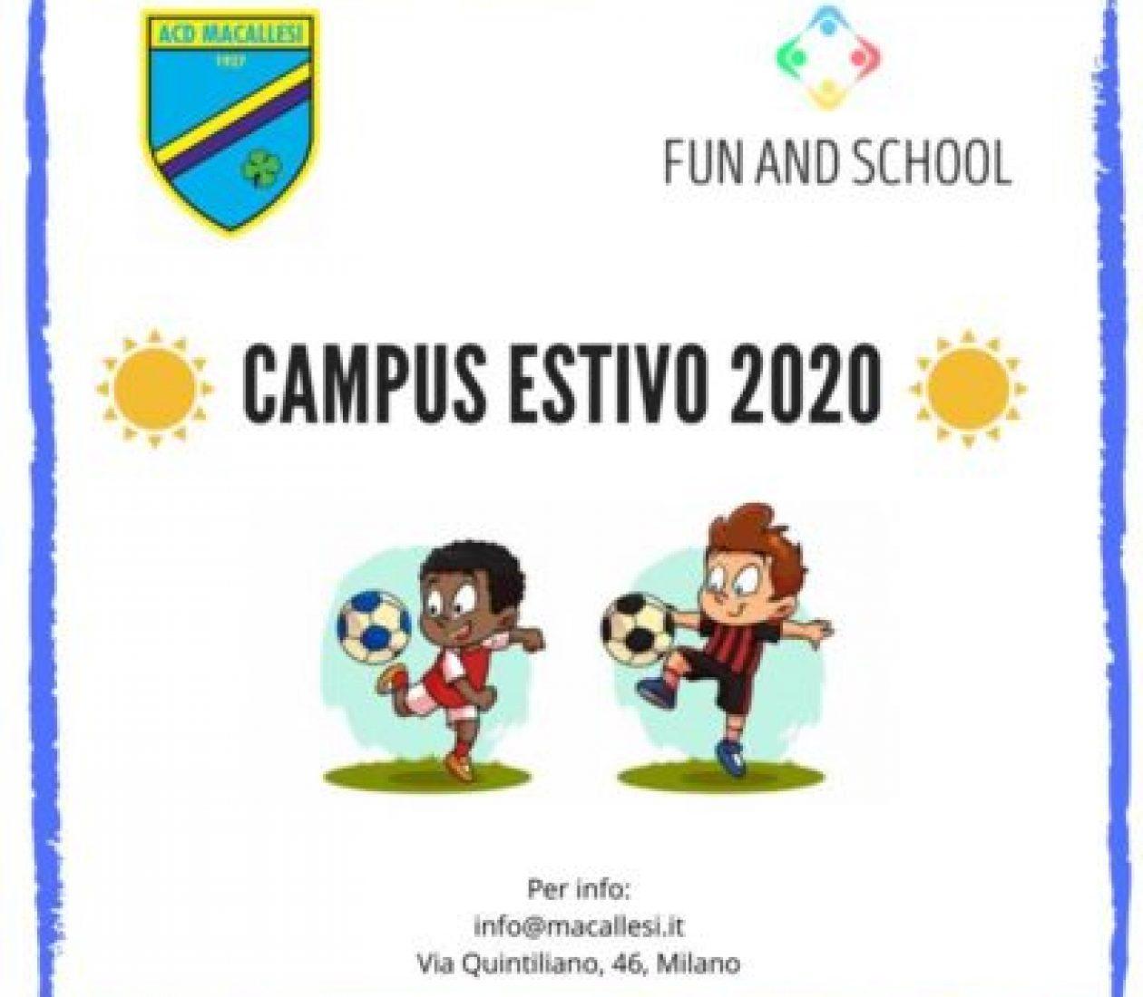 Summer Camp Macallesi 2020