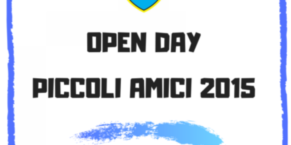Open day piccoli amici 2015